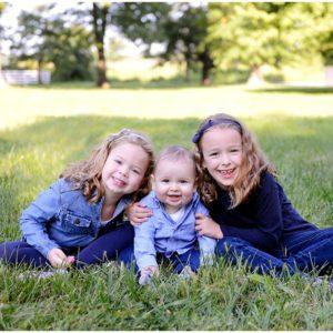 Big Man and his sisters